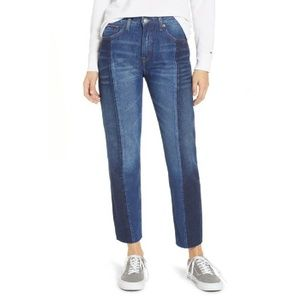 Tommy Jeans Izzy paneled slim ankle high waisted